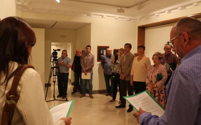 Inauguración de la muestra