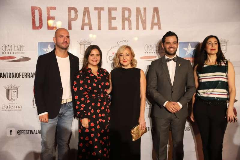 Carmen Machi, en Paterna. EPDA
