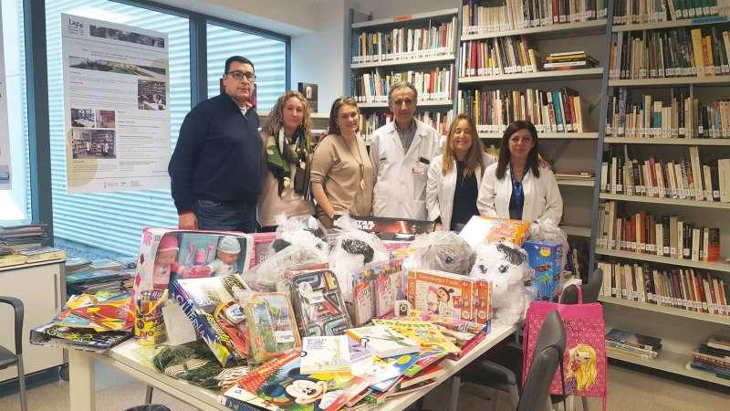 Donación de juguetes