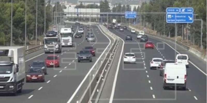 Imagen de un de las carreteras de la Comunitat Valenciana. EFE