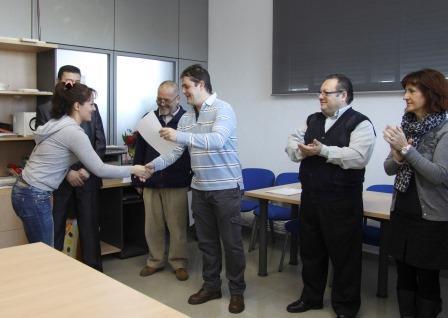 Entrega de diplomas. Foto: EPDA.