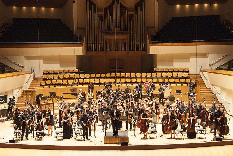 La Joven Orquesta Sinfónica de la Federación de Sociedades Musicales de la Comunidad Valenciana