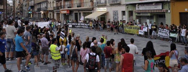 Imatge de la manifestació. FOTO: EPDA