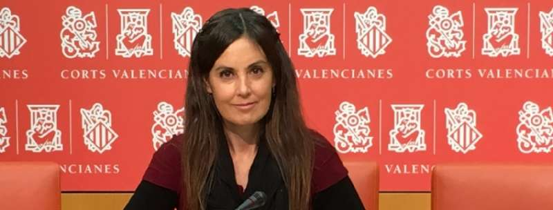 La portavoz de Vivienda del Grupo Parlamentario Popular en Les Corts, Elisa Díaz