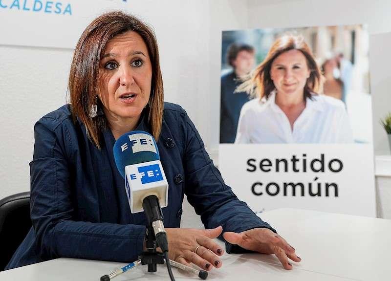 La portavoz del PP en València, María José Catalá. EFE/Archivo