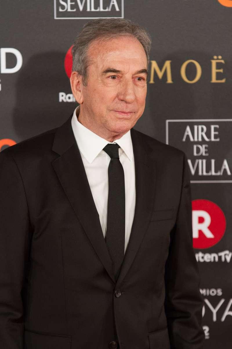 José Luis Perales en los Premios Goya 2018.