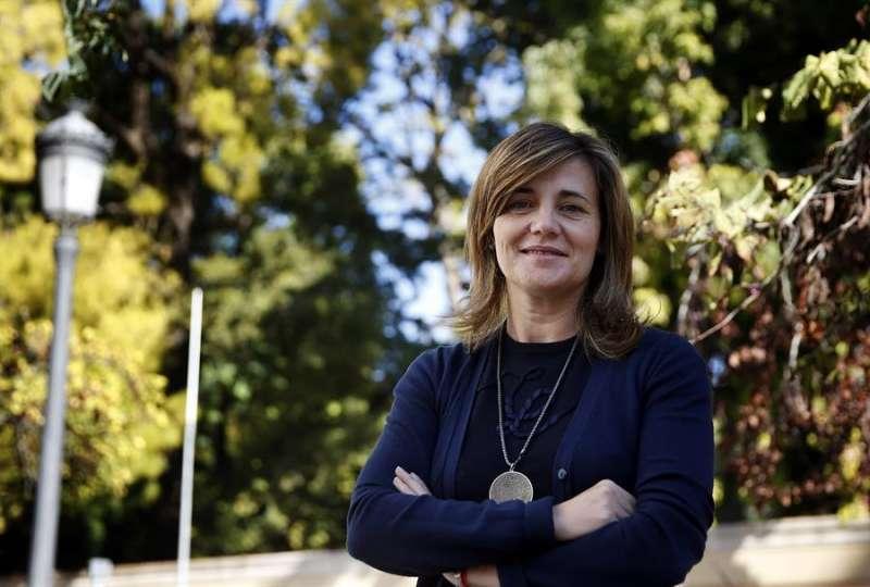 Imagen de archivo de la portavoz de Política Social del Grupo Parlamentario popular (GPP), Elena Bastidas. EFE