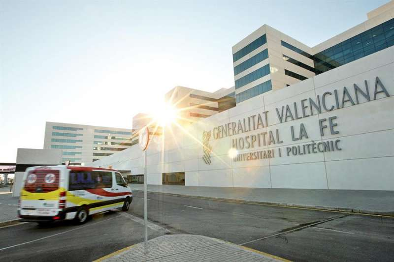 Hospital La Fe de València. EFE/Archivo