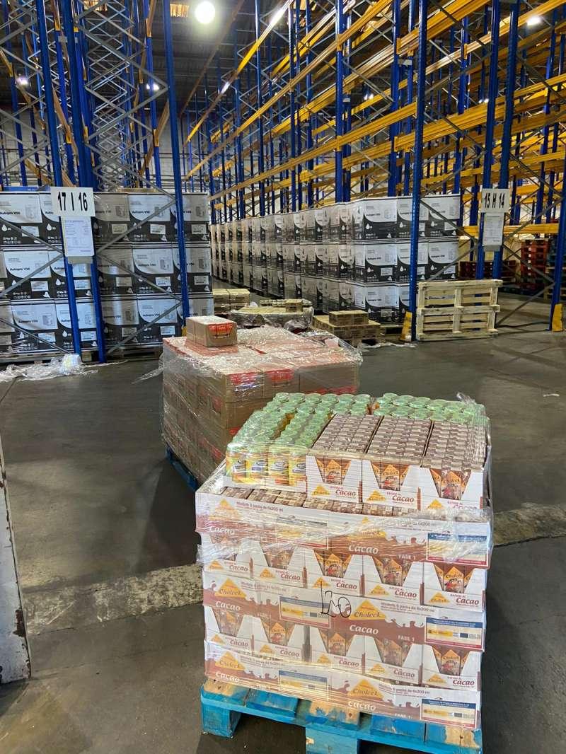 Alimentos que cubren necesidades básicas de comida. / EPDA