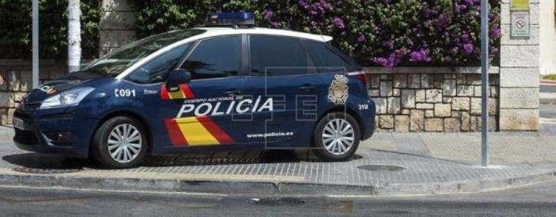 Un coche de la Policía Nacional. EFE/Archivo