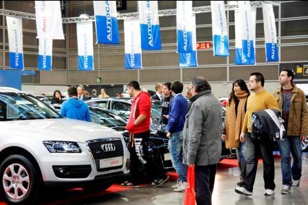 Imagen de archivo de la Feria del Automóvil que arrancará este miércoles en Feria Valencia.