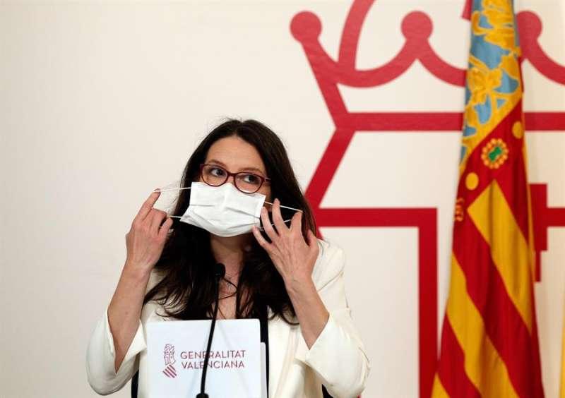 La vicepresidenta y Portavoz del Gobierno valenciano, Mónica Oltra. EFE