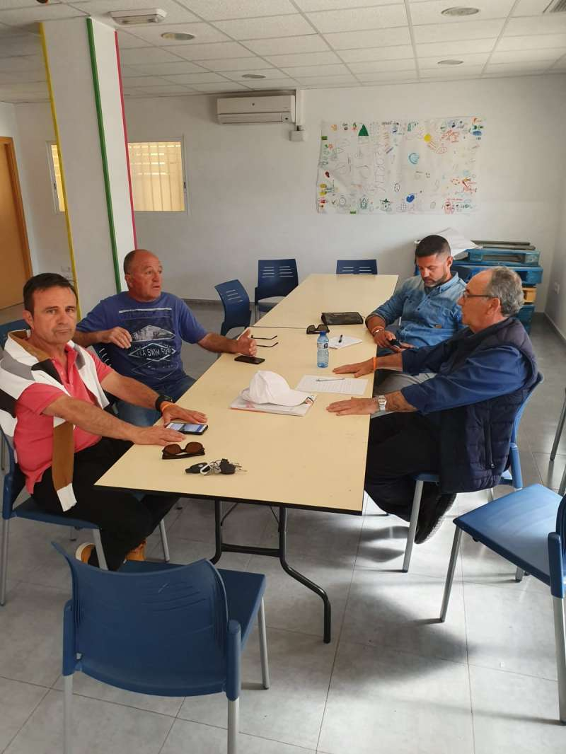 Reunión de Cs Sagunto con el vicepresidente de los vendedores ambulantes. EPDA