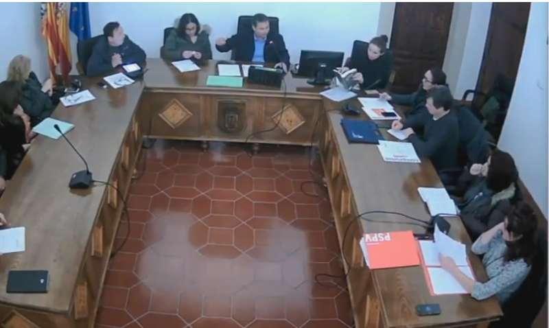 Pleno en el Ayuntamiento de Albalat dels Sorells. EPDA