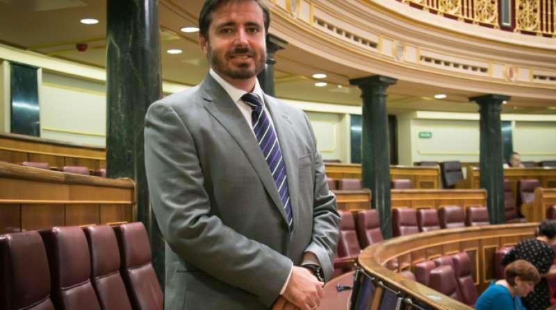 El diputado socialista en el Congreso Herick Campos.
