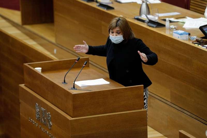 La presidenta del PPCV, Isabel Bonig.