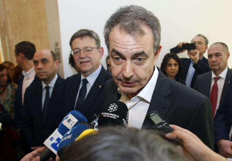 El expresidente del Gobierno José Luis Rodríguez Zapatero. EFE/Archivo