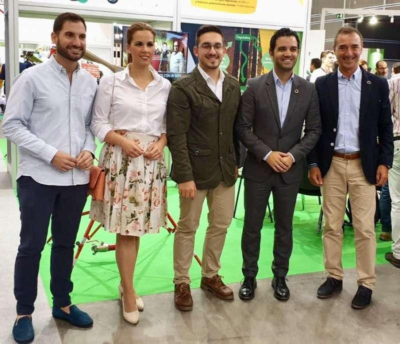 Los representantes de los municipios que lindan con el río Túria no han faltado a la cita de EcoFira, como son Benaguasil, Pedralba, Vilamarxant, Paterna y Riba-roja. / EPDA