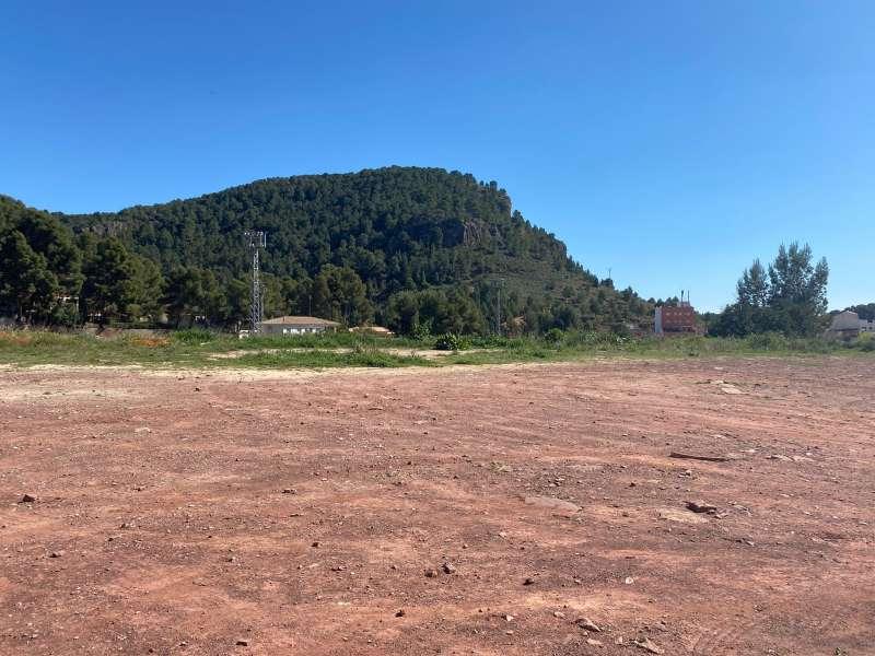 Lugar donde se va a construir el colegio. EPDA