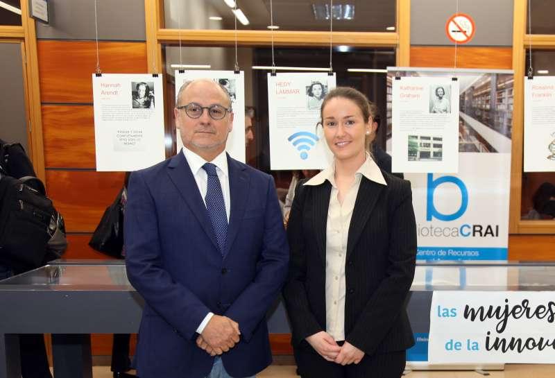Los doctores José Piquer y María Pilar Chisbert, investigadores de la Cátedra de Neurociencias CEU-Vithas Nisa