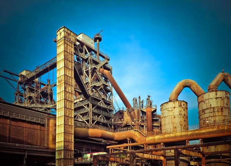 Fábrica del sector industrial. EPDA