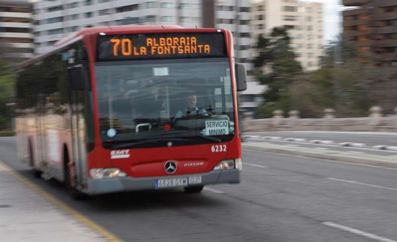 Autobús de la EMT. EPDA