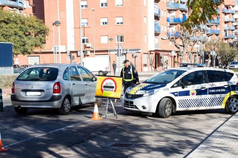 Control de vehicles a Alaquàs. EPDA