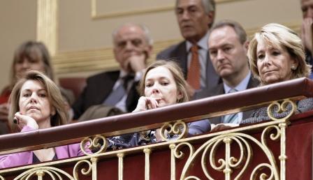 Alberto Fabra durante el discurso de investidura de Mariano Rajoy como Presidente del Gobierno. Foto gva.es