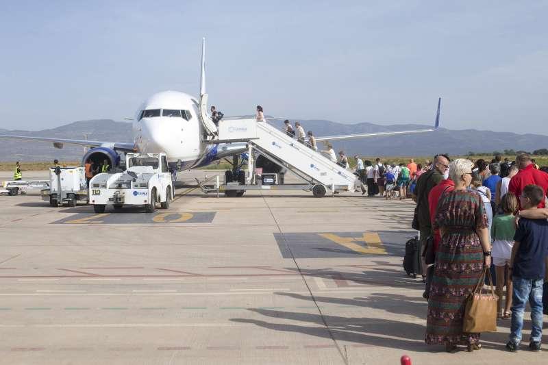 Imagen del aeropuerto de Castellón.- EPDA
