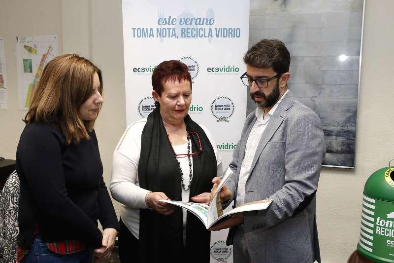 Entrega del premio de la campanya. EPDA