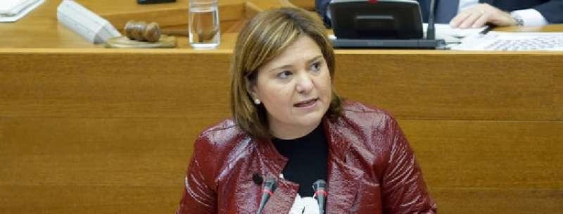 La Presidenta del Partido Popular en la Comunitat Valenciana, Isabel Bonig