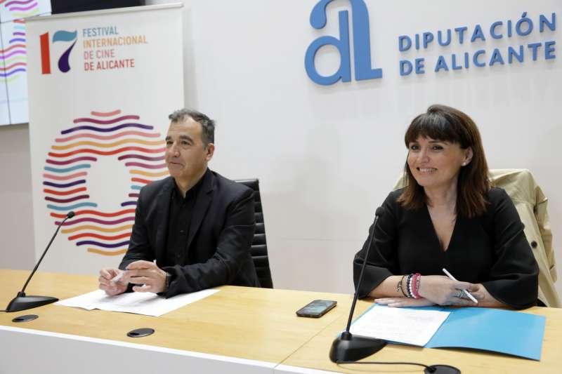 Presentación del XVII Festival Internacional de Cine de Alicante. EPDA