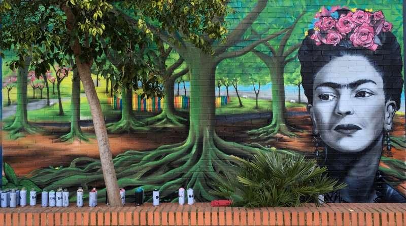 El mural de Khalo