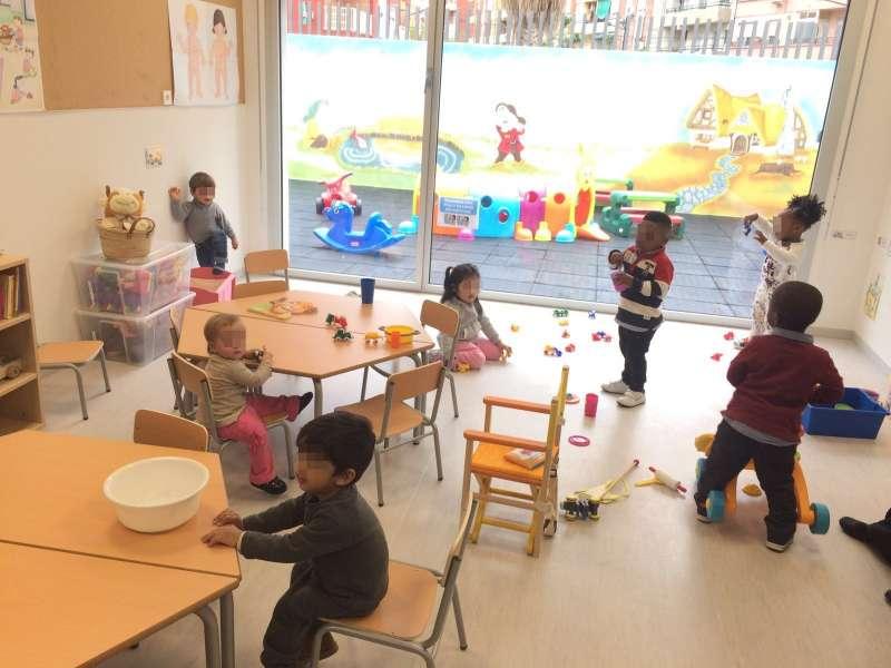 Instalaciones de la nueva escuela infantil de Benicalap