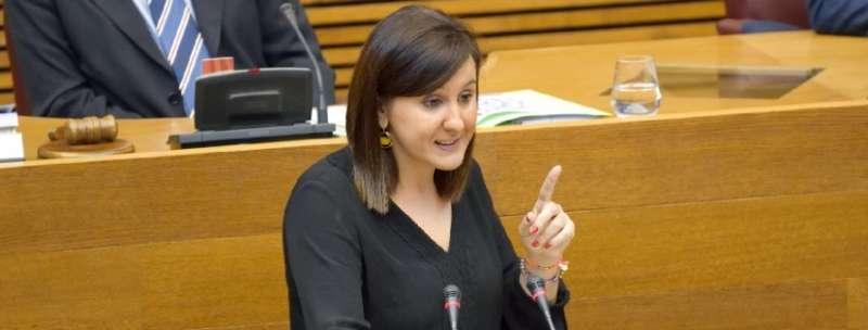 La portavoz adjunta del Grupo Parlamentario Popular en Les Corts, María José Catalá