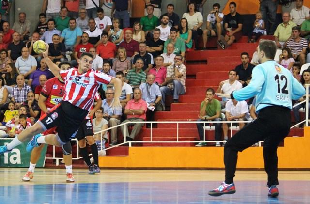 Imagen de una jugada de Nacho Plaza. FOTO: PEPA CONESA