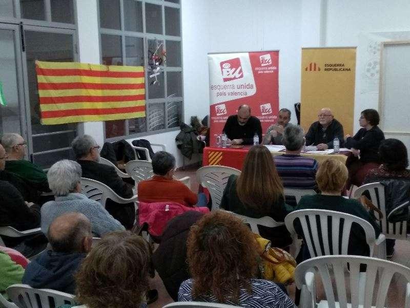 Acte a Benifairó de les Valls. EPDA