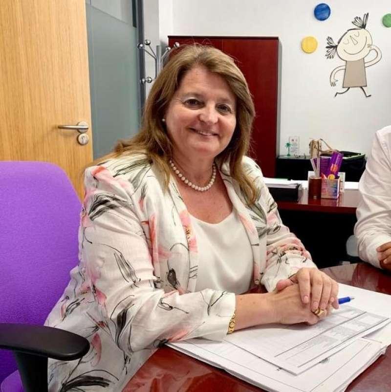 La concejala de Educación y Acción Social, Julia Llopis. EPDA