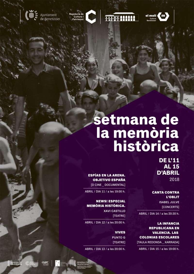 Cartell setmana de la memòria històrica