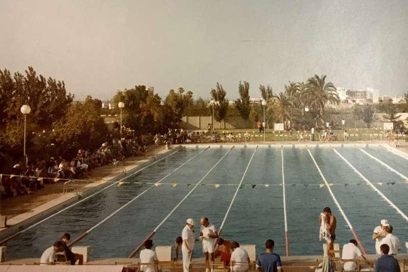 La piscina en els anys 80