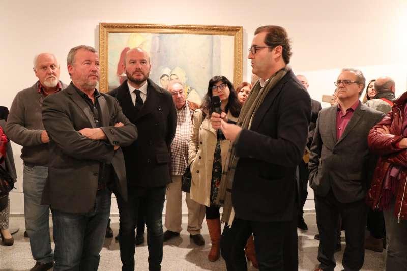 Inauguración de la exposición en Sagunt. EPDA