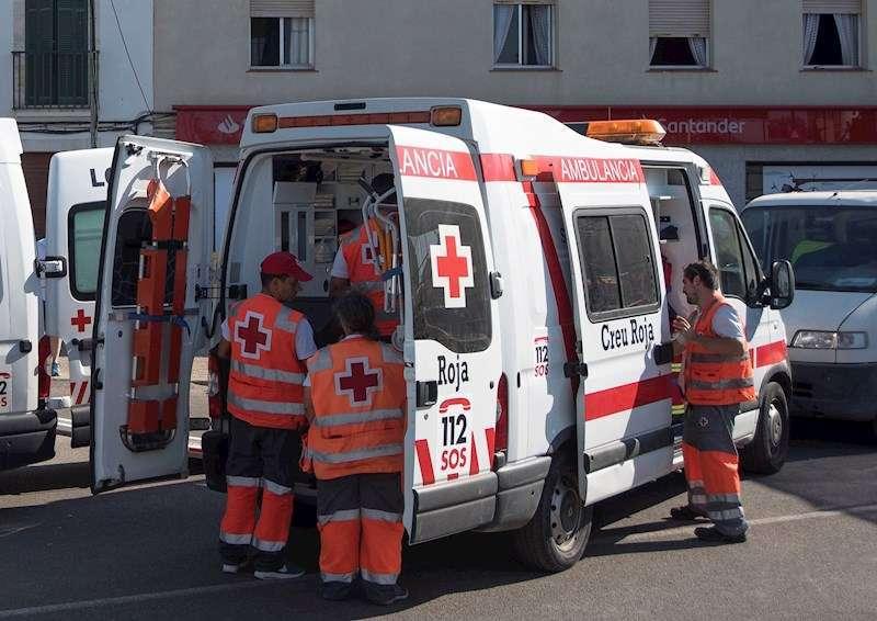 Una ambulancia de Cruz Roja. EPDA/Archivo