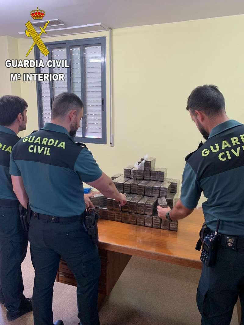 Imagen de la Guardia Civil.