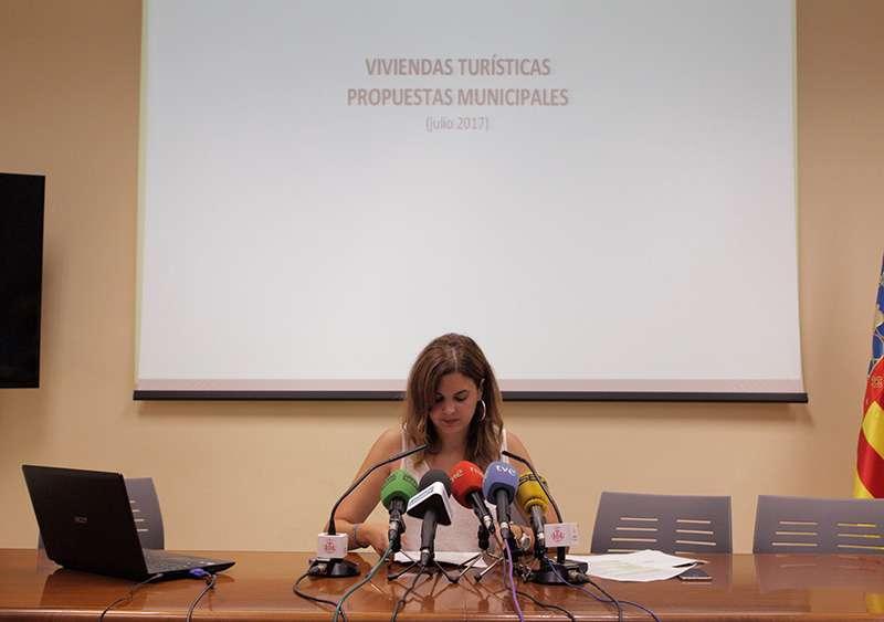 La edil de turismo Sandra Gómez. EPDA.