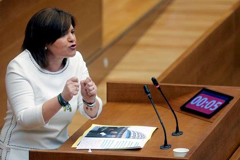 La Portavoz del PPCV , Isabel Bonig. EFE