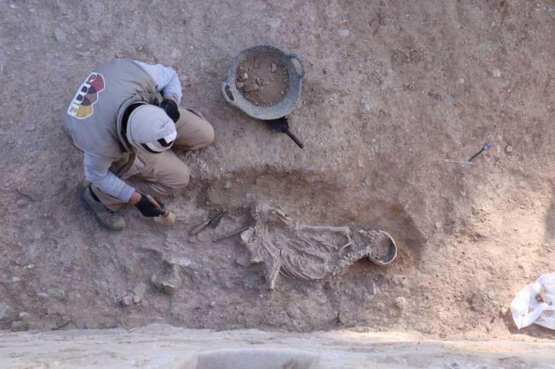 Nuevos enterramientos en el castillo