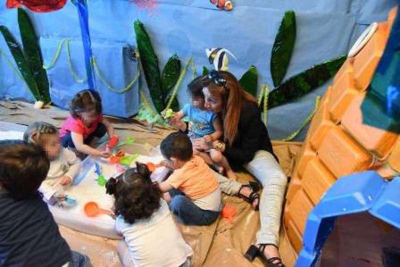 Cristina Civera visita el centre per conèixer el nou projecte. EPDA