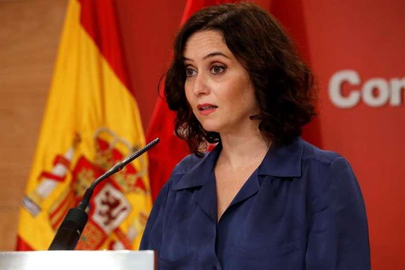 La presidenta de la Comunidad de Madrid, Isabel Díaz Ayuso. ZIPI