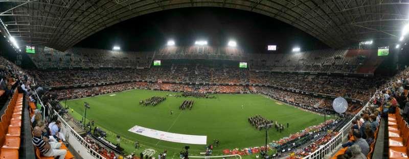El Mestalla lleno a rebosar. FOTO FSCM
