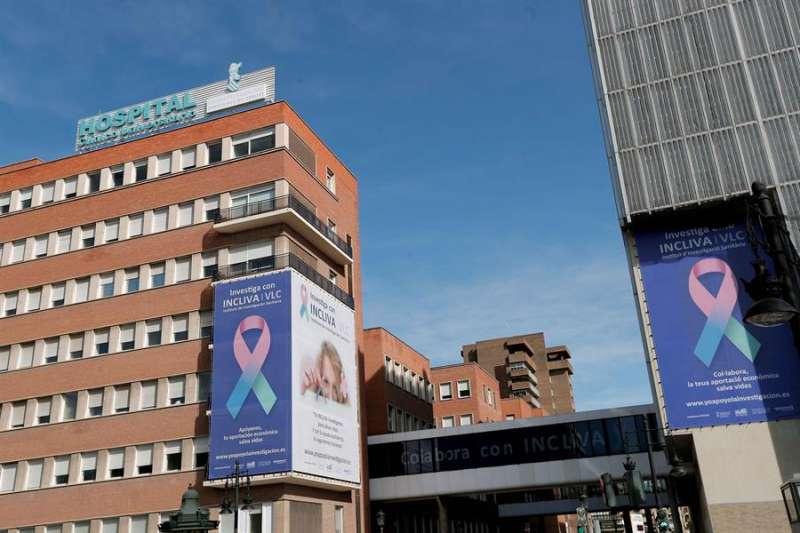 Imagen del Hospital Clínico Univeritario de València, donde ha estado ingresado el periodista valenciano por coronavirus. EFE/Archivo